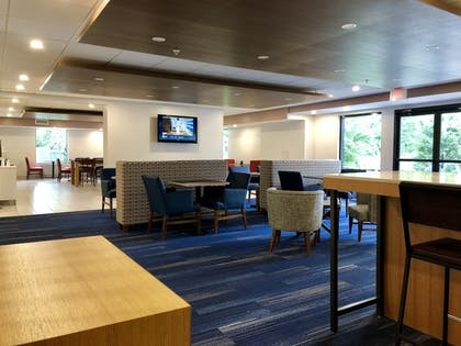 Lobby Sitting Area | Holiday Inn Express Hotel & Suites Great Barrington