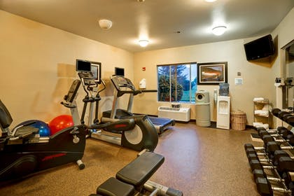 Fitness Facility | Holiday Inn Express Hotel & Suites Christiansburg