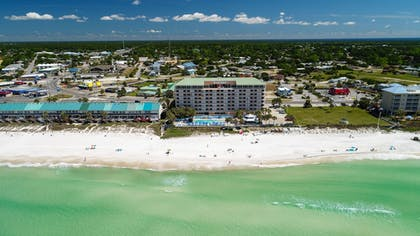 Aerial View | Beachcomber By The Sea