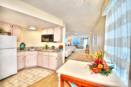 In-Room Kitchenette | Bahama House