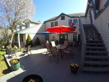 Terrace/Patio | Casco Bay Inn