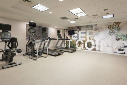 Fitness Facility | SpringHill Suites by Marriott Grand Rapids North