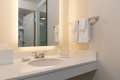 Bathroom | SpringHill Suites by Marriott Grand Rapids North