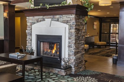 Fireplace | Staybridge Suites Co Springs-Air Force Academy