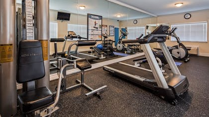 Fitness Facility | Best Western Club House Inn & Suites