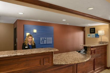Reception | Holiday Inn Express Hotel and Suites Marysville