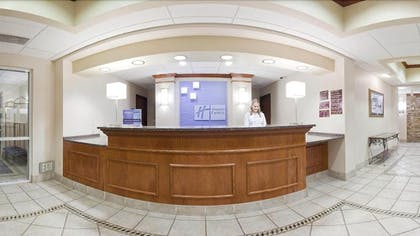Reception | Holiday Inn Express & Suites Aberdeen