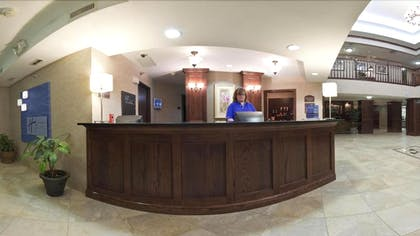 Reception | Holiday Inn Express Hotel & Suites Watertown