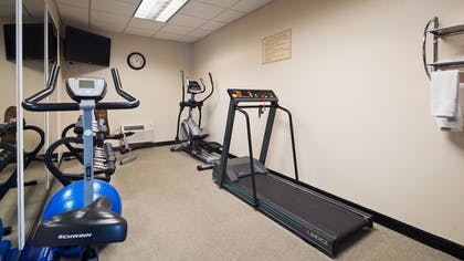 Fitness Facility | Best Western The Inn At The Fairgrounds