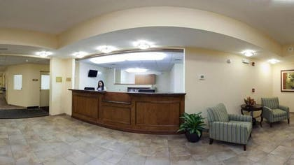 Reception   Candlewood Suites New Bern