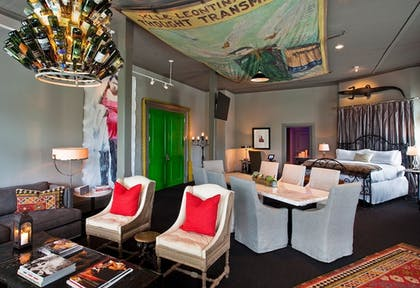 Living Area | Hotel ZaZa Dallas
