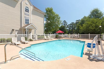 Outdoor Pool | Microtel Inn & Suites by Wyndham Brunswick North