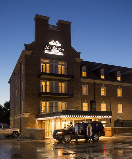 Hotel Front - Evening/Night | The Atherton Hotel At OSU