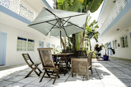 Terrace/Patio | Aqua Hotel & Suites