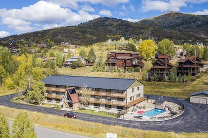 Aerial View | The Inn at Steamboat