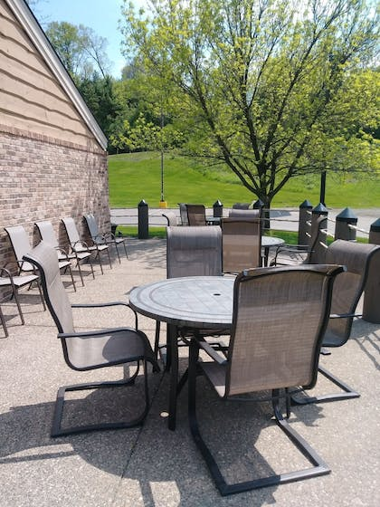 Terrace/Patio | AmericInn by Wyndham Red Wing