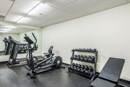 Fitness Facility | Comfort Inn & Suites Dayton North
