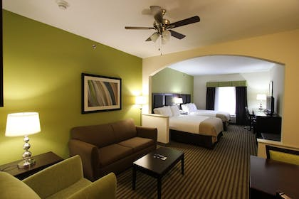 Living Area | Holiday Inn Express Hotel and Suites Nacogdoches