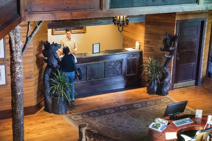 Check-in/Check-out Kiosk | Brasstown Valley Resort & Spa