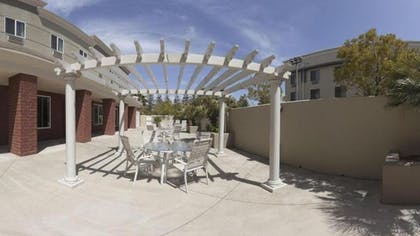 Terrace/Patio | Holiday Inn Express Hotel & Suites Vacaville