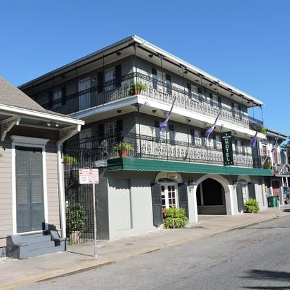 Hotel Front   French Quarter Suites Hotel