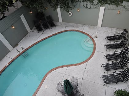 Outdoor Pool   French Quarter Suites Hotel