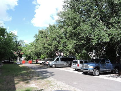RV or Truck Parking   French Quarter Suites Hotel