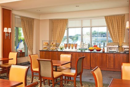 Breakfast Area | Residence Inn by Marriott Boston Harbor on Tudor Wharf