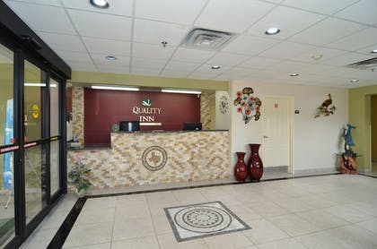 Reception | Quality Inn near SeaWorld - Lackland