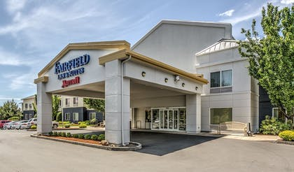 Hotel Front | Fairfield Inn & Suites by Marriott Bend Downtown