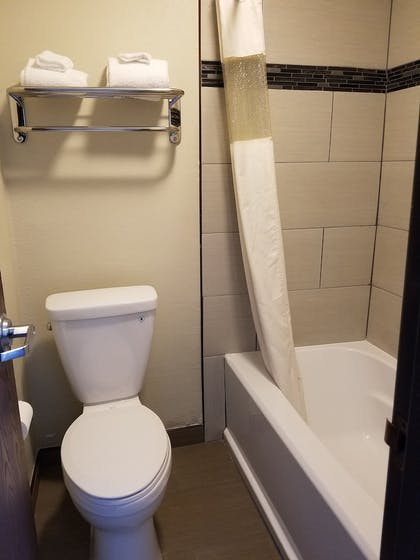 Bathroom | Days Inn by Wyndham El Centro
