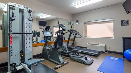 Fitness Facility   Best Western River Cities