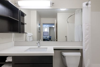 Bathroom | Candlewood Suites Lake Mary