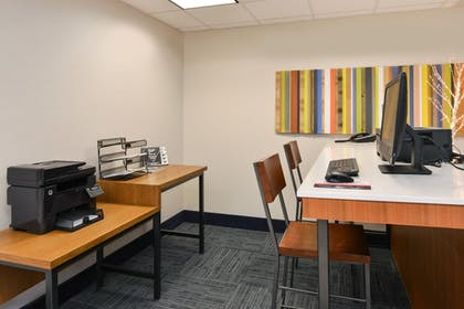 Business Center | Holiday Inn Express & Suites Raleigh NE - Medical Ctr Area