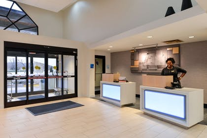 Hotel Interior | Holiday Inn Express & Suites Raleigh NE - Medical Ctr Area