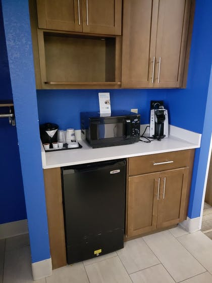 Minibar | Holiday Inn Express & Suites Raleigh NE - Medical Ctr Area