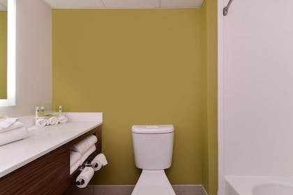 Bathroom | Holiday Inn Express & Suites Raleigh NE - Medical Ctr Area
