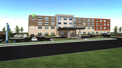 Hotel Front | Holiday Inn Express & Suites Raleigh NE - Medical Ctr Area