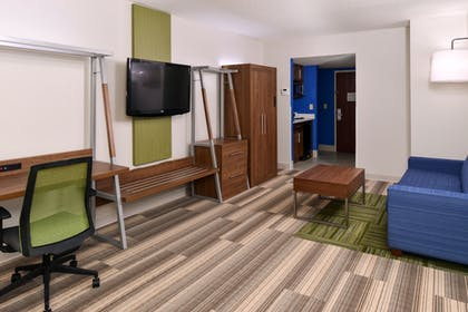 Living Area | Holiday Inn Express & Suites Raleigh NE - Medical Ctr Area