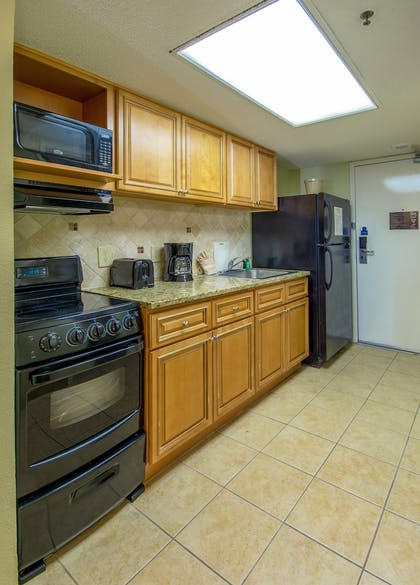 In-Room Kitchen | Compass Cove Resort