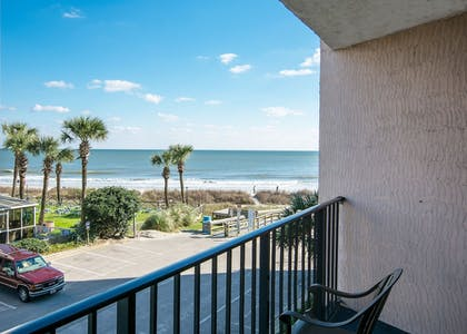 Guestroom View | Compass Cove Resort