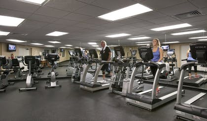 Gym | Compass Cove Resort