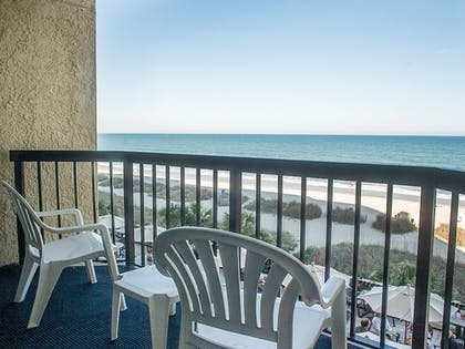 Balcony | Compass Cove Resort