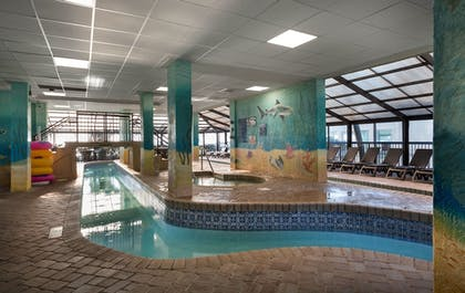 Indoor Pool | Compass Cove Resort