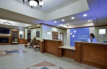 Lobby   Holiday Inn Express Hotels and Suites Dayton North Tipp City