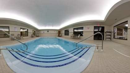 Indoor Pool   Holiday Inn Express Hotels and Suites Dayton North Tipp City