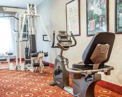 Fitness Facility   Comfort Inn And Suites