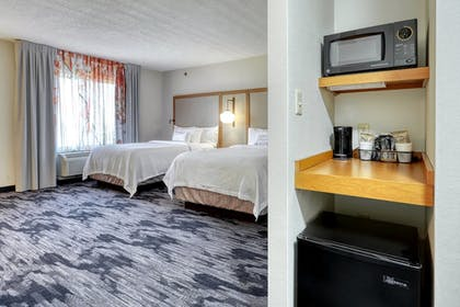 Guestroom | Fairfield Inn & Suites by Marriott Woodbridge