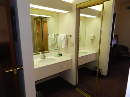 Bathroom Sink | Ashmore Inn & Suites