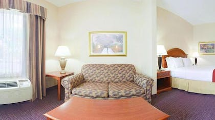 Living Area | Holiday Inn Express Hotel & Suites Dayton-Centerville